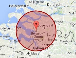werkgebied Bergen op Zoom
